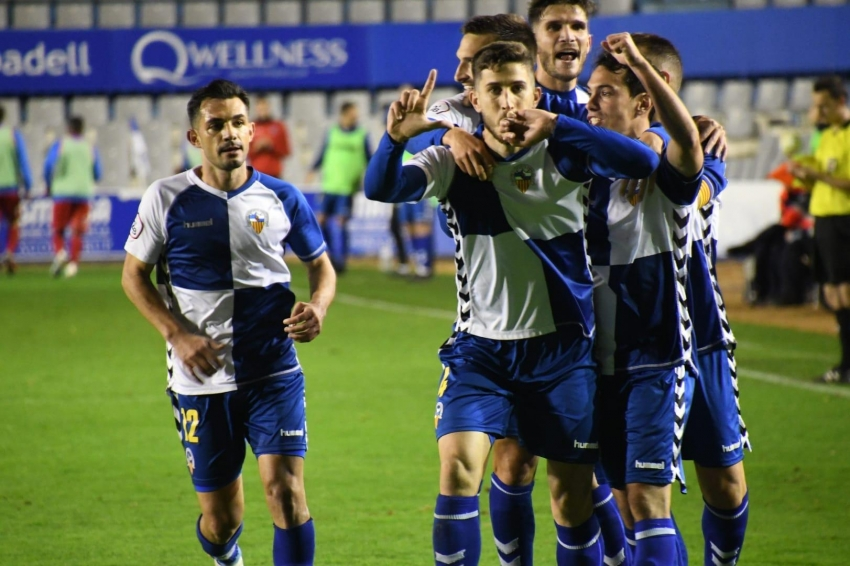 Sabadell 4 Lleida 0. Superioridad total para acabar el 2019 como líder