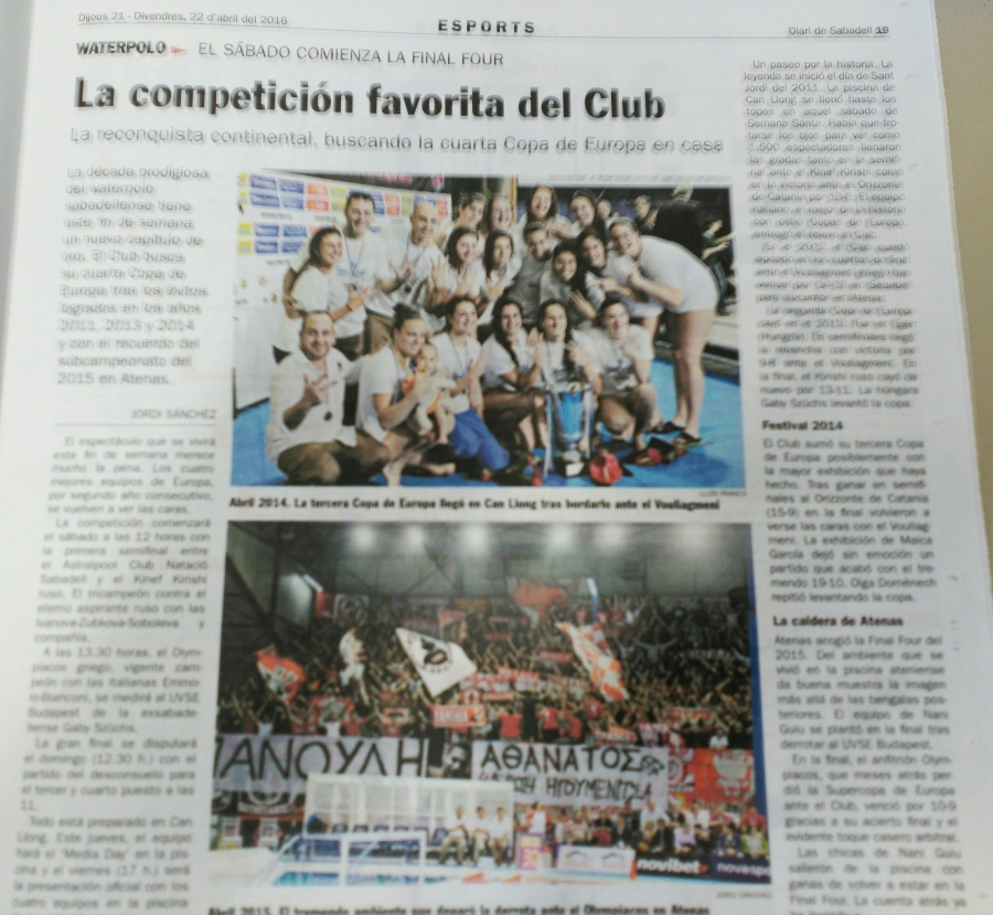 La competición favorita del Club