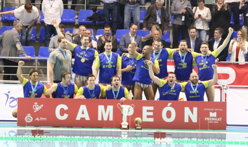 El At.Barceloneta completa otra Copa del Rey ante el CN Terrassa (12-6)