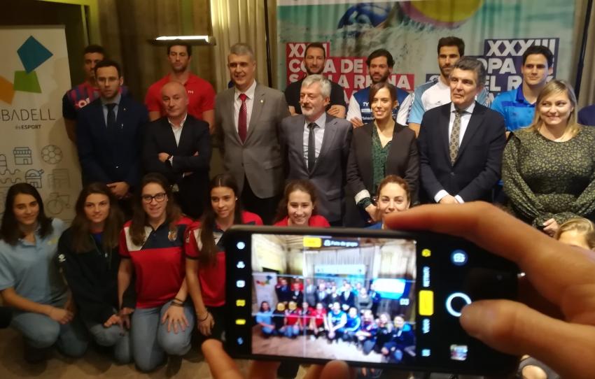 La igualdad del waterpolo (Copa de la Reina y del Rey) se da cita estos días en Sabadell