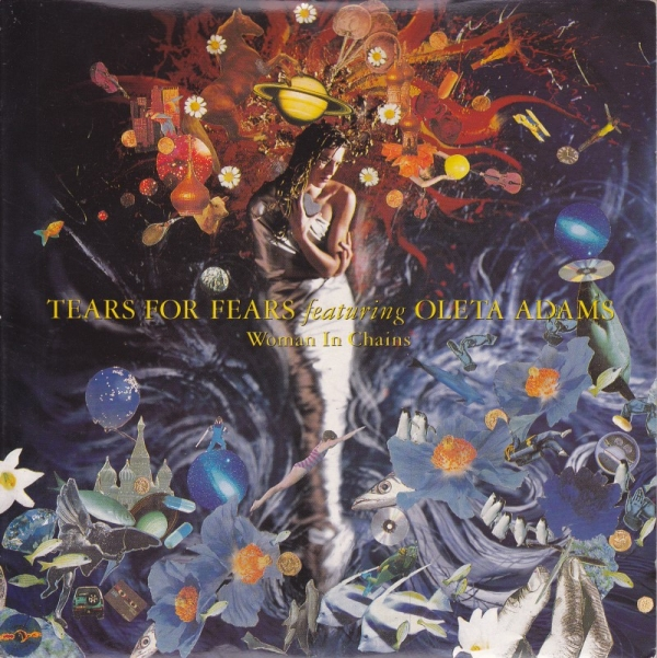 Tears for Fears. Woman in chains