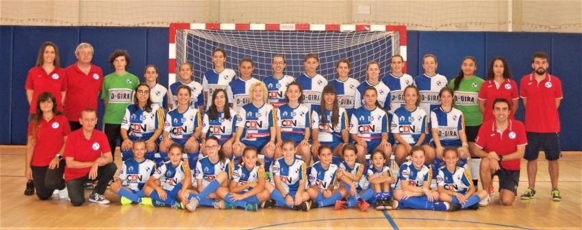 Setena victòria seguida del FS Sabadell Femení CDN