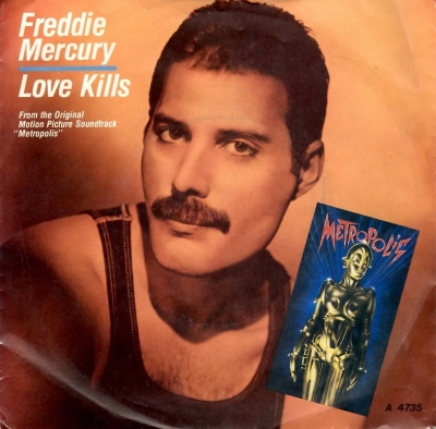 Freddie Mercury: Love kills