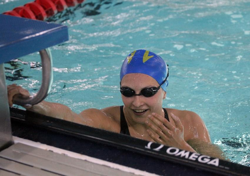 Judit Ignacio se retira de la natación con una carrera 'made in Club'