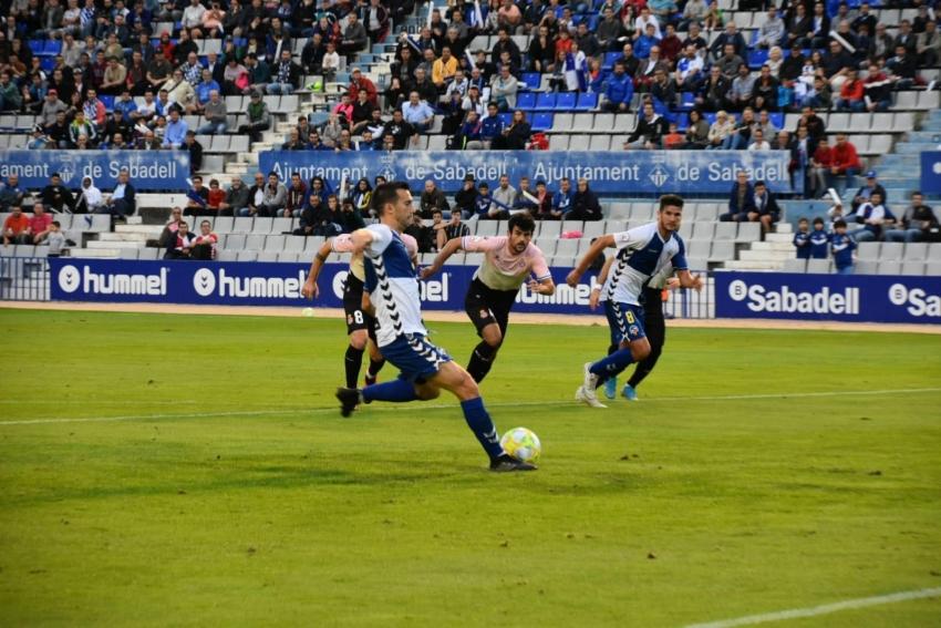 El Sabadell se gusta ante el Espanyol B (3-1) con doblete de Adri Cuevas