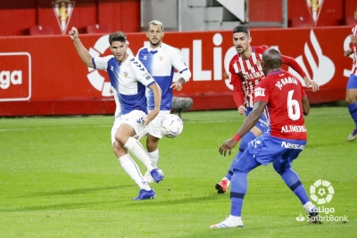 Un lance del Sporting-Sabadell