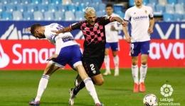 El Sabadell se estrena en Zaragoza (0-0) en su mejor partido