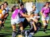 Nova exhibició de les jugadores de rugbi del FEM Vallès (0-80)