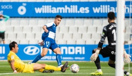 El Sabadell nota el cansancio ante un efectivo Málaga (1-2)