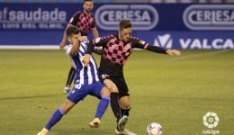 El Sabadell celebra su semana fantástica en Ponferrada (0-3)