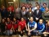 El waterpolo da un impulso al juntar la Copa del Rey y de la Reina en Sabadell