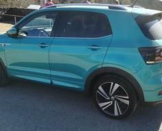 Volkswagen T-Cross, verde esperanza